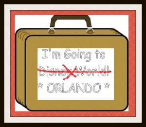 I'm Going to Disney World!ORLANDO!
