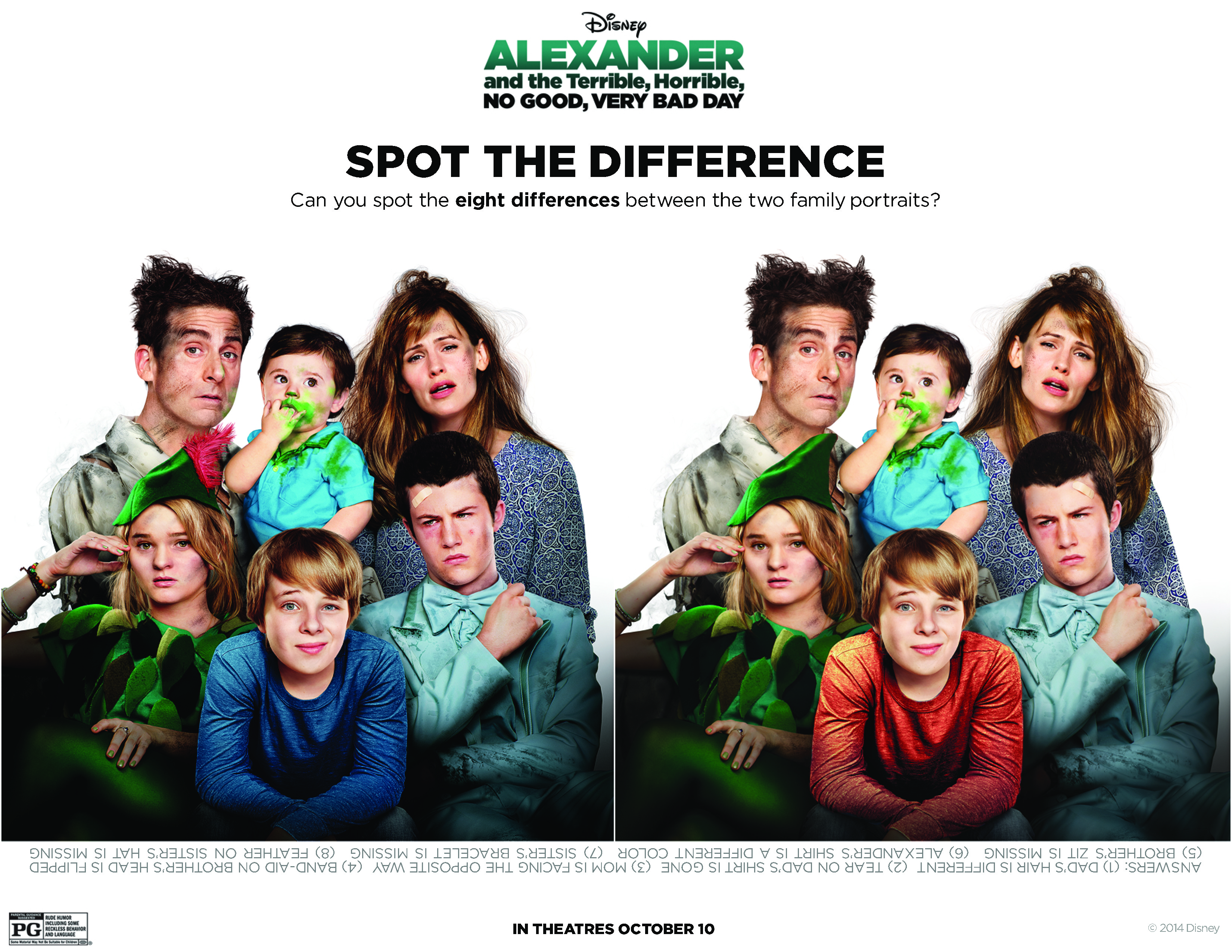 Alexander And The Terrible Horrible No Good Very Bad Day Movie Wallpaper